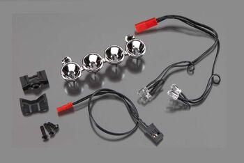 LED lightbar (chrome, 4 clear lights)