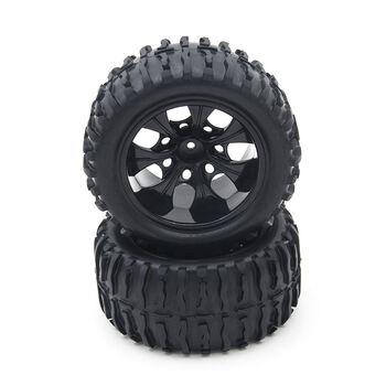 Комплект колес HSP в сборе (08008N+08009) - HSP08010N-Black