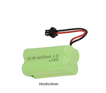 Аккумулятор Ni-Cd AA 4.8v 1800mah форма Row разъем YP