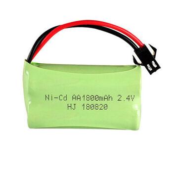 Аккумулятор Ni-Cd AA 2.4v 1800mah форма Flatpack разъем YP