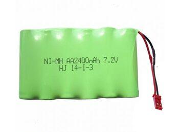 Аккумулятор Ni-Mh AA 7.2v 2400mah форма Flatpack разъем JST
