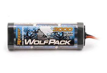 Аккумулятор Ni-MH силовой - WolfPack SC 7.2V 3000mAh (Tamiya plug) AS694