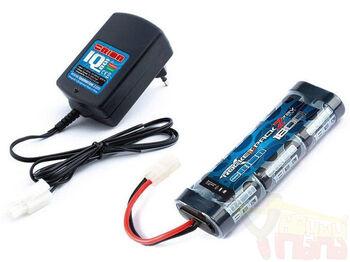 Комплект зарядное устройство и аккумулятор Rocket 1800 mAh 7.2V NiMH (Tamiya Plug)