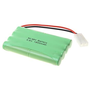 Аккумулятор Ni-Mh 9.6V 1800 mAh AA (разъем Tamiya) - YED1601-1800