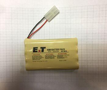 Аккумулятор NIMH 9.6V 1600mAh ExT RC 9616 ColumnRow Tamiya