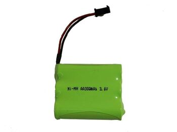 Аккумулятор Ni-Mh AA 3.6v 300mah форма Flatpack разъем YP