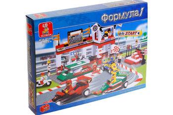 Конструктор Sluban  Формула 1 ГранПри