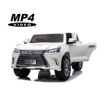 Электромобиль Lexus LX570 4WD MP4 - DK-LX570-WHITE-MP4