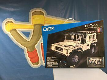 Радиоуправляемый конструктор CaDA TECHNIC C51004W Джип 2.4G