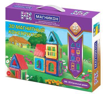 Магнитный конструктор МАГНИКОН МК-35 Кукольный домик