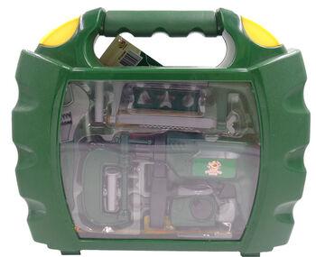 Набор инструментов в чемодане Помогаю Папе, 22 предмета