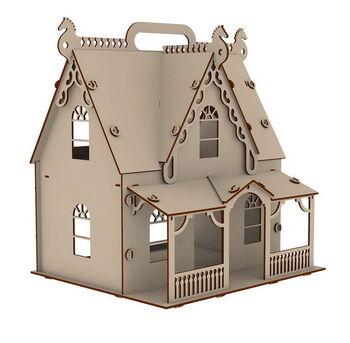 Игра развивающая. Кукольный домик. Усадьба