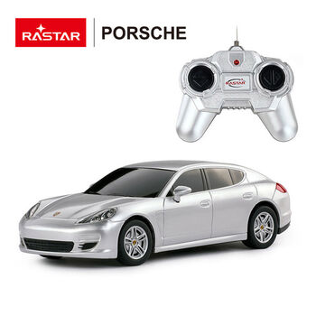 Радиоуправляемая машина Rastar 46200 Porsche Panamera 1:24 Цвет Серебряный
