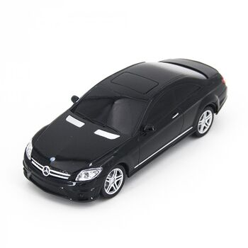Радиоуправляемая машина Rastar 34200 Mercedes Black CL63 AMG 1:24 цвет черный  27MHZ