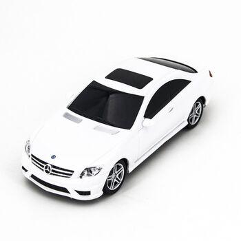 Радиоуправляемая машина Rastar 34200 Mercedes White CL63 AMG 1:24 цвет белый 40MHZ