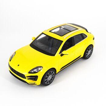 Радиоуправляемая машина Rastar 73300 Porsche Macan Turbo Yellow 1:14 цвет желтый