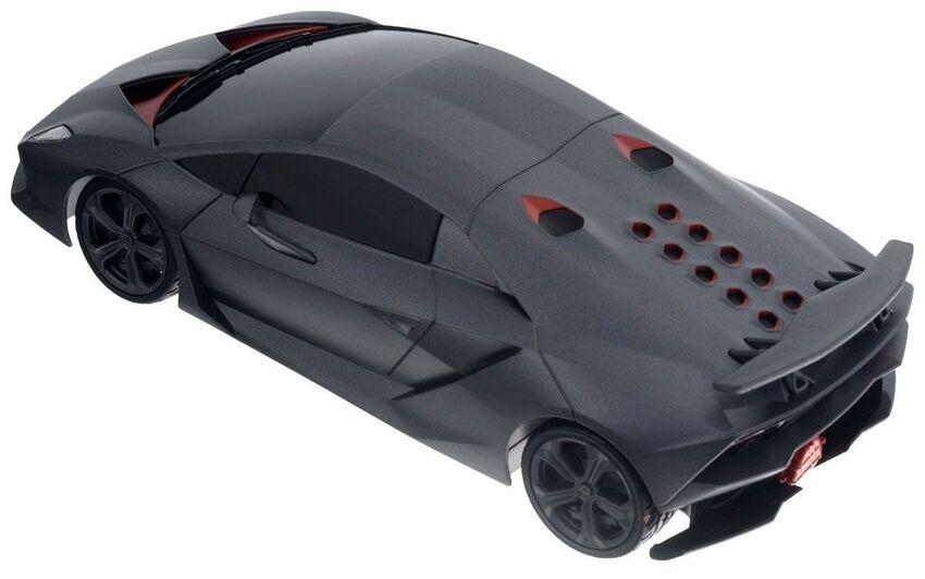 Машина Rastar 53700 Lamborghini Sesto Elemento 1:18 Цвет Серый 27MHZ