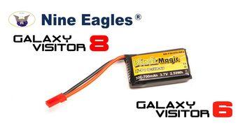 Аккумулятор Black Magic LiPo 3,7В(1S) 700mAh 30C Soft Case JST-BEC plug BM-F30-0701BEC