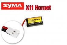 Аккумулятор LiPo 3,7В(1S) 380mAh 30C Soft Case Molex plug (for Syma X11)