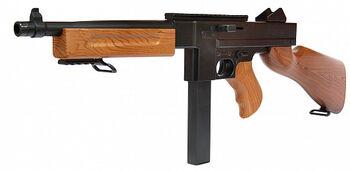 Автомат-пулемет Томпсона с пружинным механизмом (70 см, пневматика) - M306F