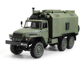 Радиоуправляемая машина WPL УРАЛ (зеленый) 6WD 2.4G 1/16 RTR