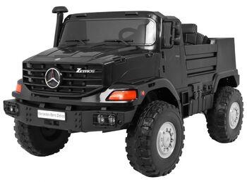 Электромобиль грузовик Mercedes-Benz Zetros Black 2WD - BDM0916