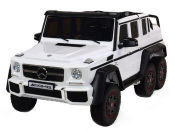 Двухместный электромобиль Mercedes Benz G63 6x6 4WD - ABL1801-WHITE