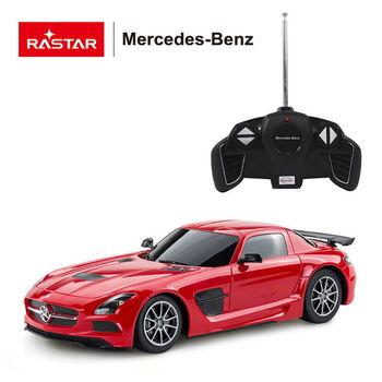 Машина Rastar 54100 Mercedes-Benz SLS AMG 1:18 Цвет Красный