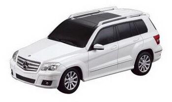Радиоуправляемая машина Rastar 32100 Mercedes GLK 1:24, цвет белый 40MHZ
