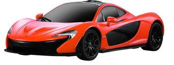 Радиоуправляемая машина Rastar 75200 McLaren P1 1:24, цвет оранжевый 40MHZ