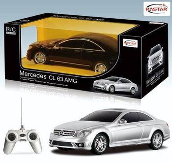 Радиоуправляемая машина Rastar 34200 Mercedes CL63 AMG 1:24 цвет в ассортименте