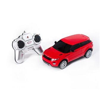 Радиоуправляемая машина Rastar 46900 Land Rover Range Rover Evoque 1:24 цвет красный
