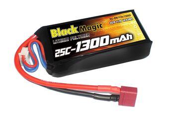 Аккумулятор Black Magic LiPo 11,1V 1300mAh (3S) 25C Soft Case (Deans plug)