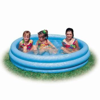 Бассейн надувной детский Crystal Blue Pool 168х41см. (от 3-х лет)