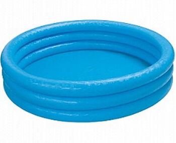 Бассейн надувной Crystal Blue Pool, голубой цвет