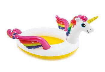 Бассейн надувной детский с фонтаном Mystic Unicorn Spray Pool (Мистический единорог), 2+
