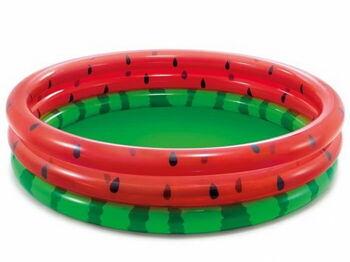 Бассейн надувной детский Watermelon Pool, от 2-х лет, 168смx38см