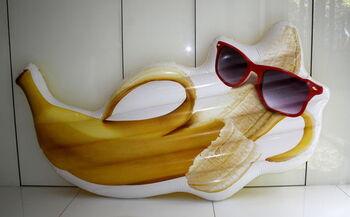 Матрац надувной в виде банана (180*95 см)
