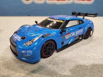 Радиоуправляемая машина для дрифта Nissan GTR R35 Nismo 1:18 4WD 2.4g синяя