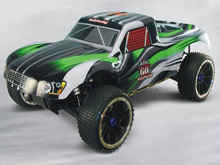 Радиоуправляемая машина HSP Rally Monster Gas Off Road Truck 26С 4WD 1:5