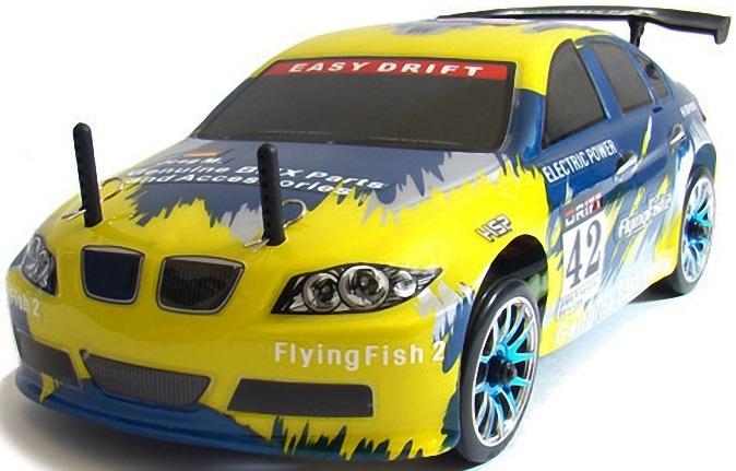 Радиоуправляемый автомобиль для дрифта HSP Flying Fish 2 4WD - 1:16