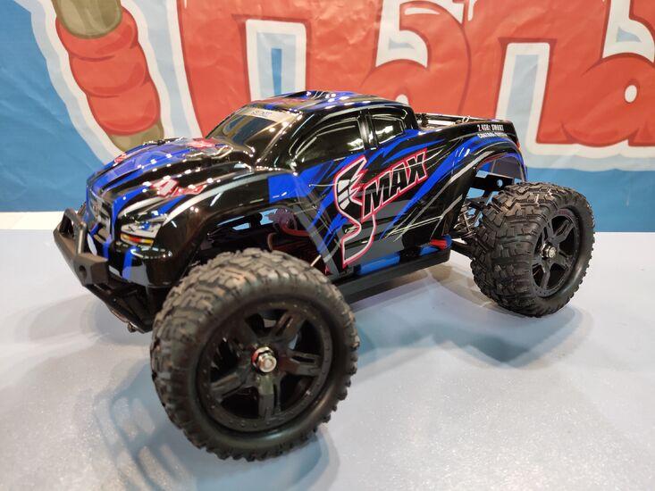 Радиоуправляемый монстр Remo Hobby SMAX Brushless 1/16 4WD 2.4G синий