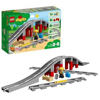 Конструктор LEGO DUPLO Town Железнодорожный мост