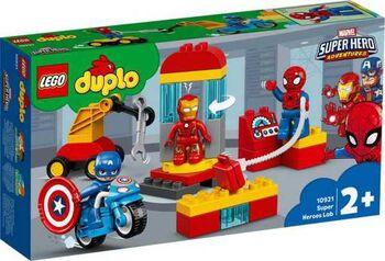 Конструктор LEGO DUPLO Super Heroes Лаборатория супергероев