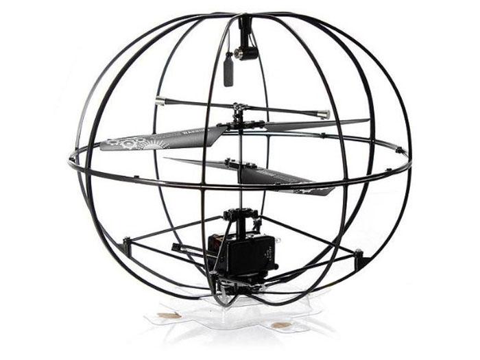 Радиоуправляемый вертолет-шар Happy Cow Robotic UFO ИК-управление