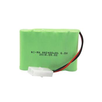 Аккумулятор Ni-Mh 6v 2400mah форма Flatpack разъем TAMIYA