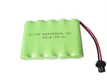 Аккумулятор Ni-Mh 6v 2400mah форма Flatpack разъем YP