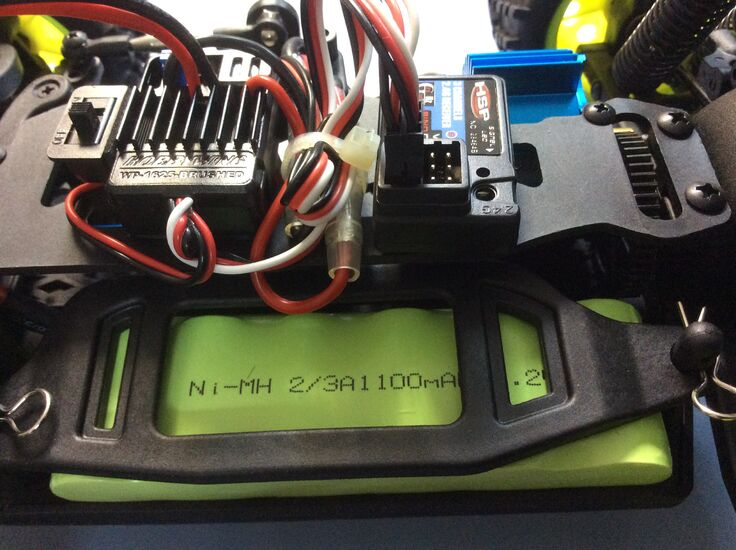 Джип на радиоуправлении HSP KidKing Electric Off-Road 4WD 1:16 2.4G