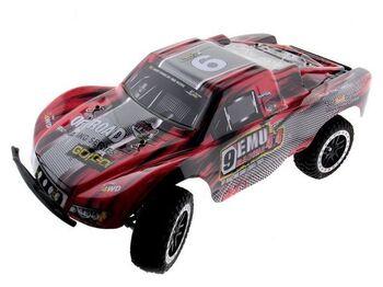 Радиоуправляемый шорт-корс Remo Hobby 9EMU (красный) 4WD 2.4G 1/8 RTR