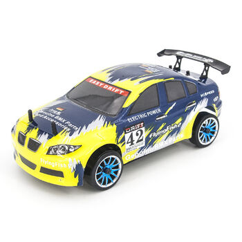 Радиоуправляемая машина для дрифта HSP FlyingFish2 BMW Drift Car 4WD 1:16 2.4G - 94163-16303